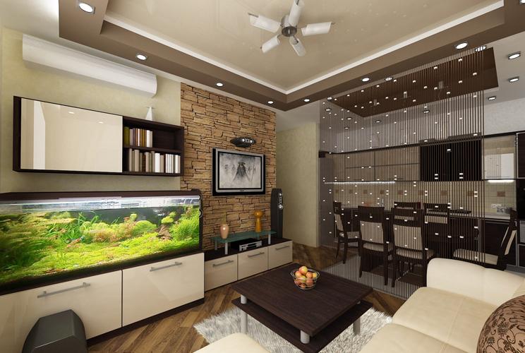 Кухня-гостиная 25 кв м дизайн