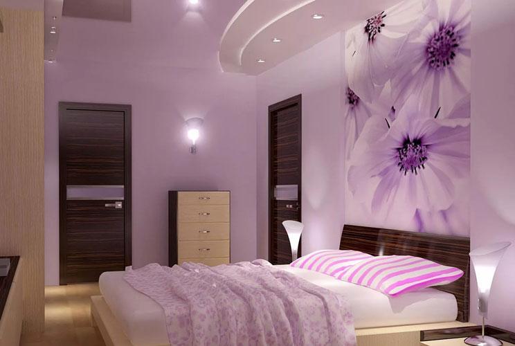 Ремонт спальной комнаты своими руками у