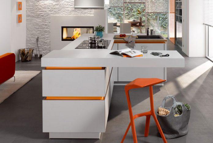 Дизайн кухни-студии 2017 современные идеи