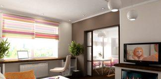 Дизайн однокомнатной квартиры 40 метров