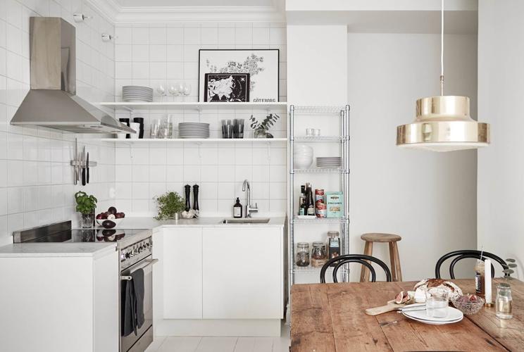 джудит компактные кухни без верхних шкафов фото вашему желанию