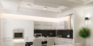 Кухня плюс гостиная дизайн фото