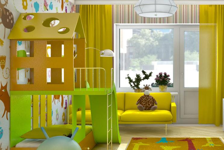 Игры дизайн дома и всех комнат
