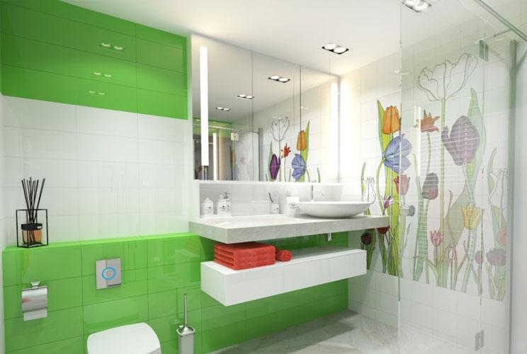Проект ванных комнаты онлайн мебель для ванной делла