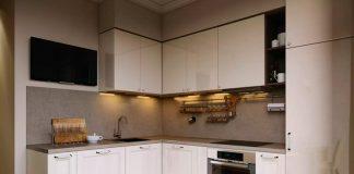 Кухни дизайн проекты фото 8 кв метров