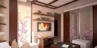 Шкаф в гостиную фото дизайн идеи