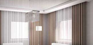 Дизайн занавесок в зал современный фото