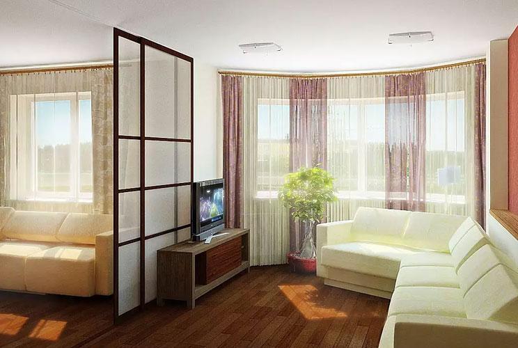 Дизайн квартир хрущевок 2 комнаты