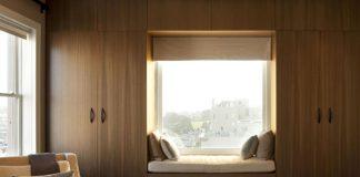 Встроенный шкаф в спальню фото дизайн идеи