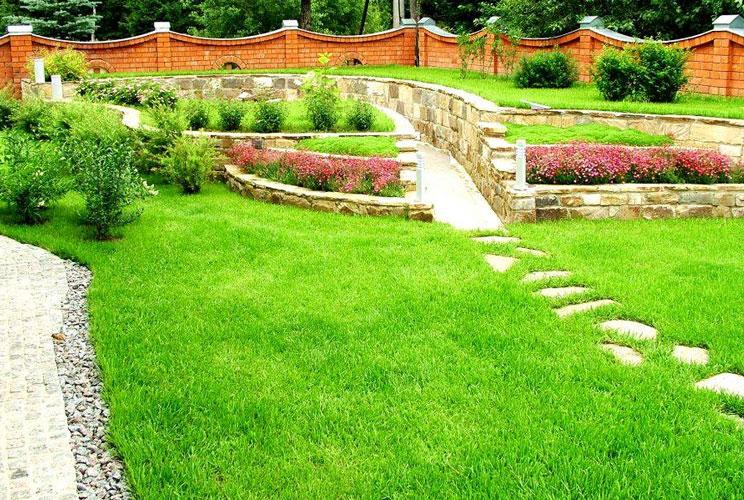 Дизайн сада и огорода фото