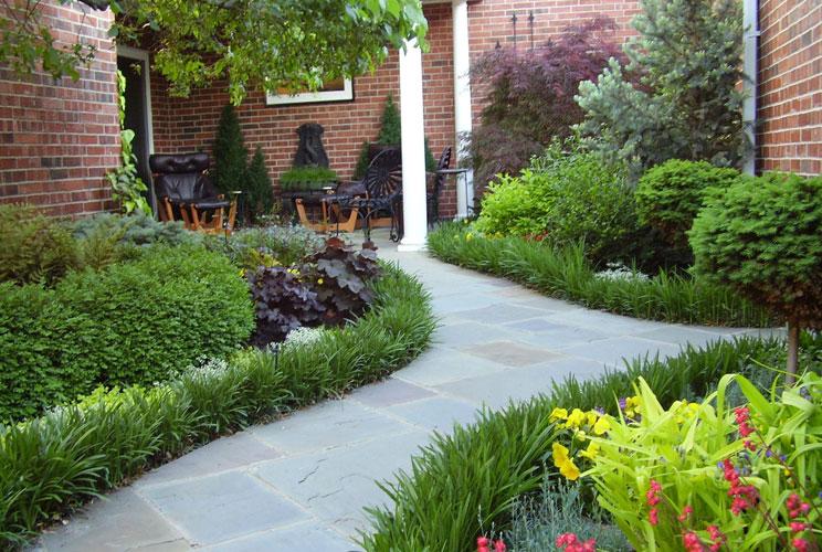 Частные сады ландшафтный дизайн