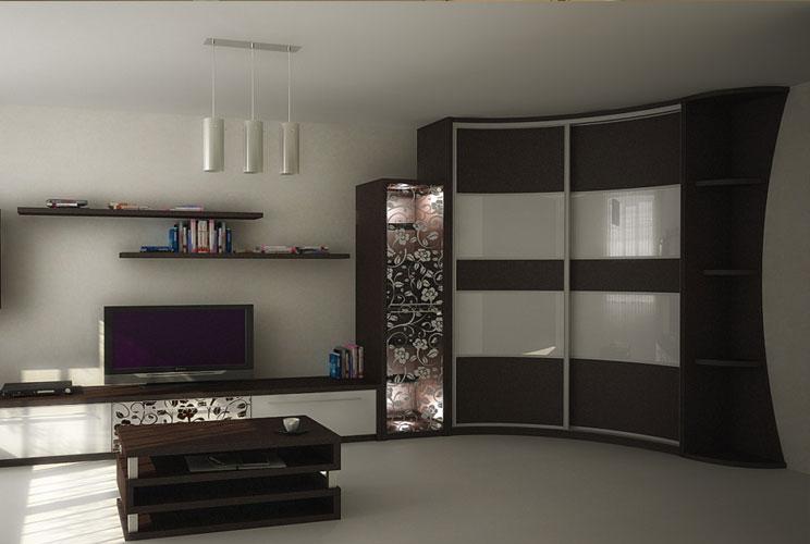 Шкаф купе в гостиную фото дизайн идеи