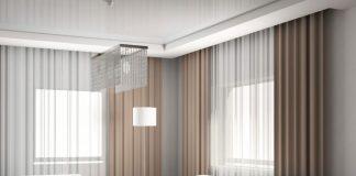 Красивые шторы в интерьере гостиной фото