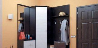 Шкаф в маленькую прихожую фото дизайн идеи