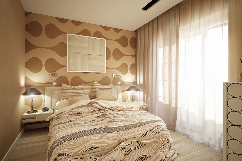 идеи для оформления маленькой спальни