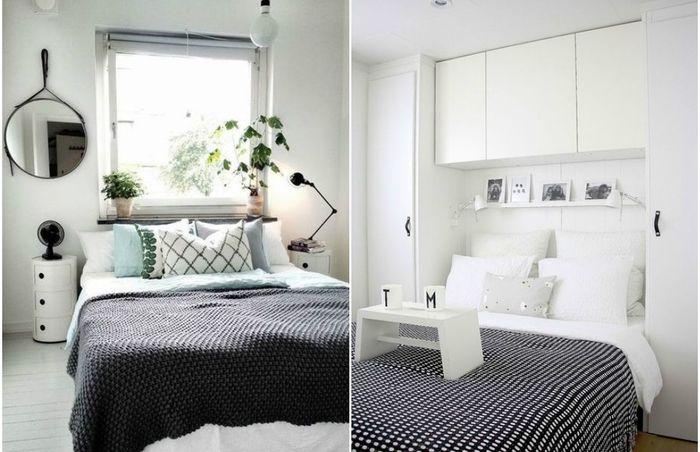 новые идеи для спальни небольших размеров