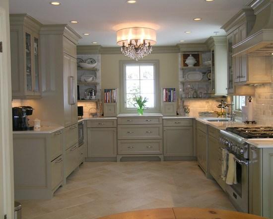 красивая люстра на кухню