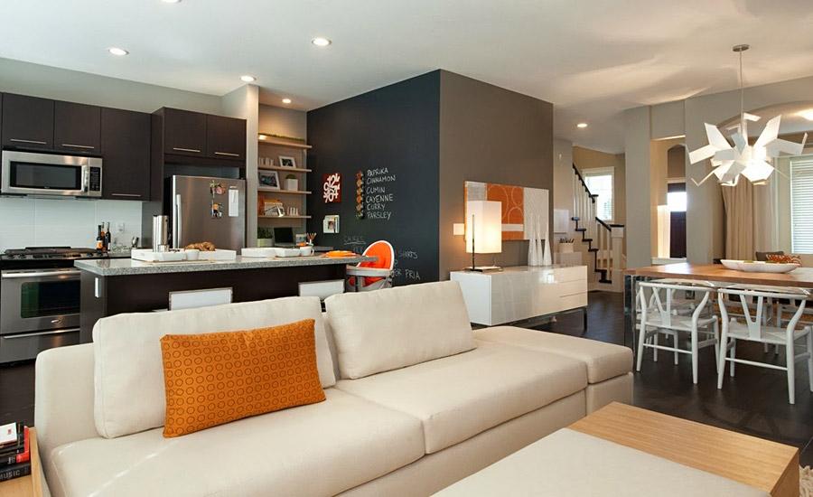 фото кухонь гостинных