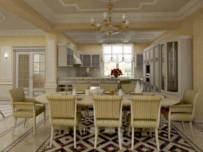 как правильно зонировать кухню и гостиную