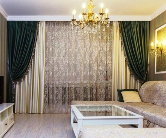 дорогие шторы в гостиную