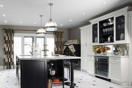 кухонная красивая люстра
