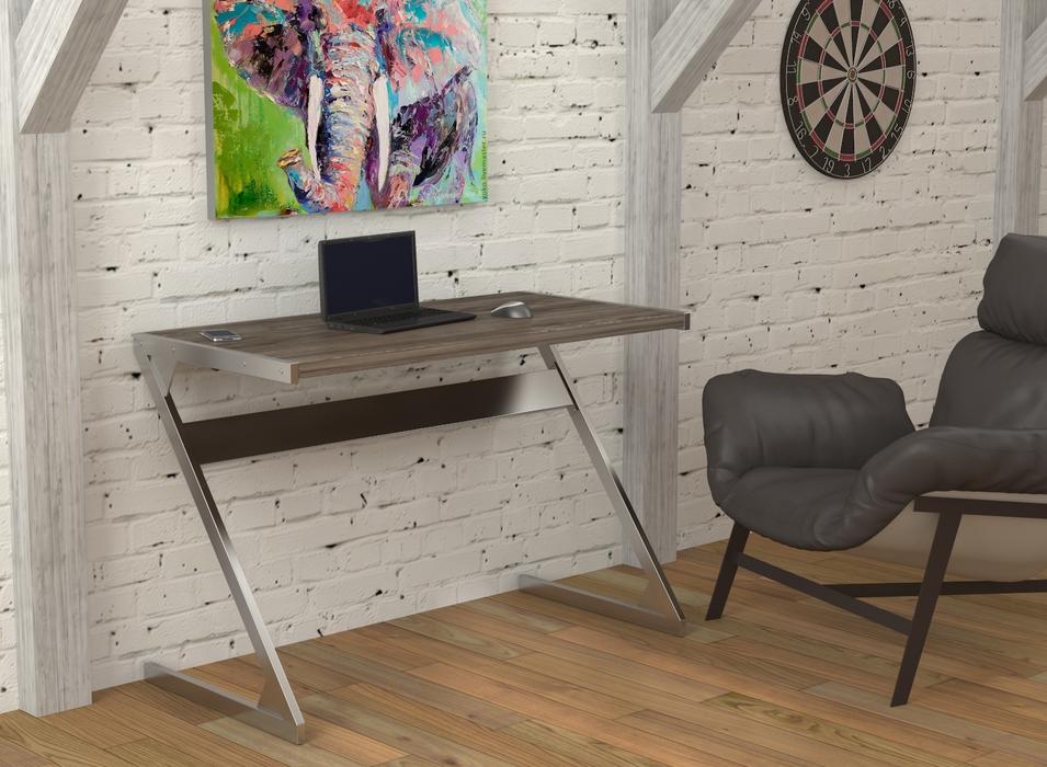 современный письменный стол в лофт