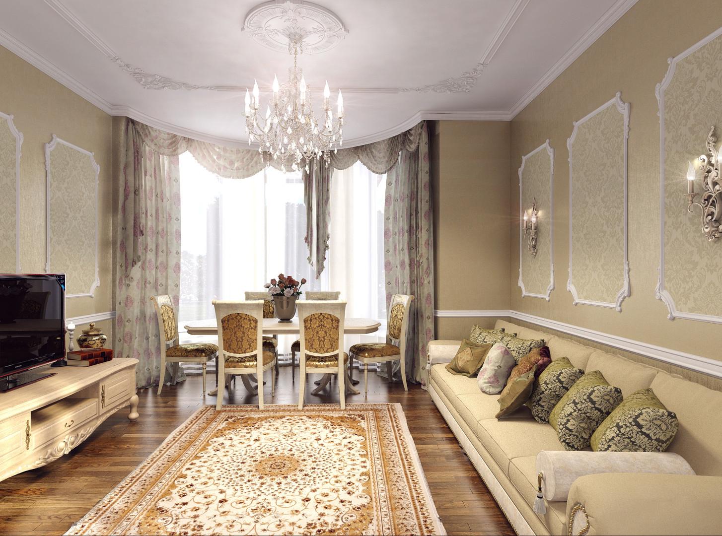 роскошный интерьер дома