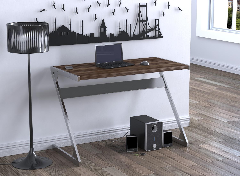 как выглядит письменный стол в лофт