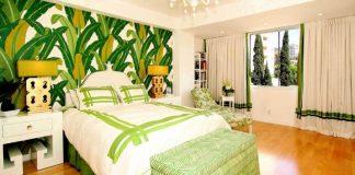 интерьер в тропическом стиле в квартире