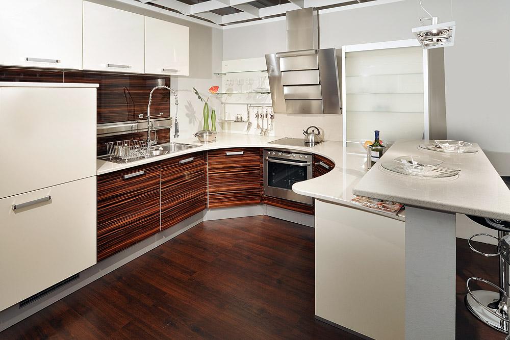светлая кухонная столешница