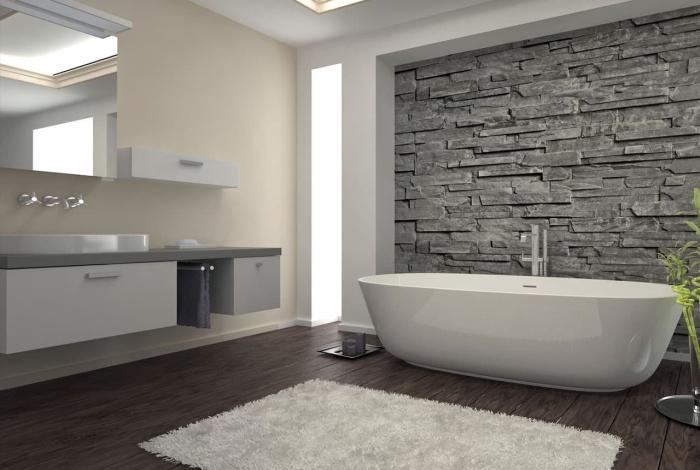 проект современной ванной комнаты