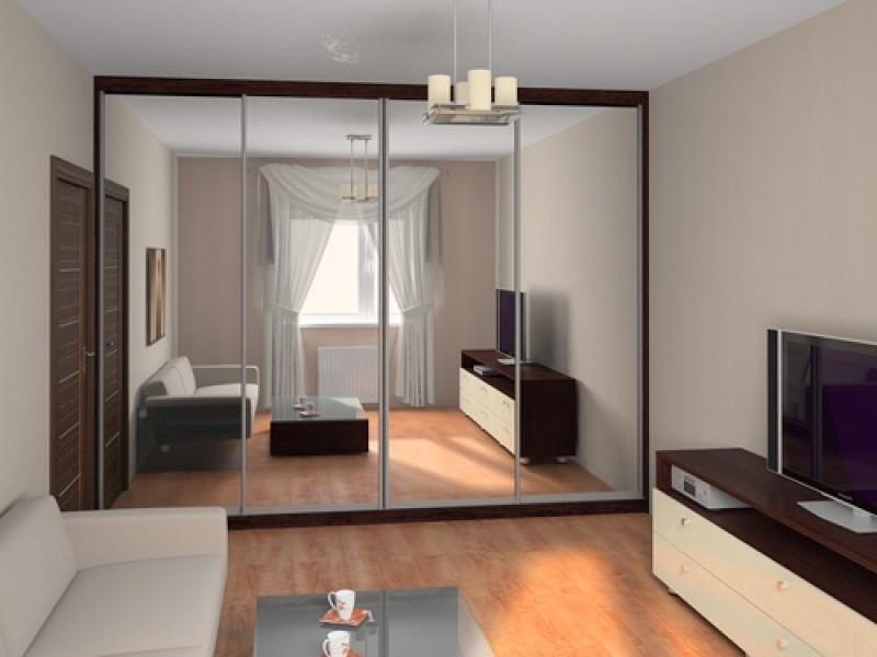 обновленный интерьер комнаты