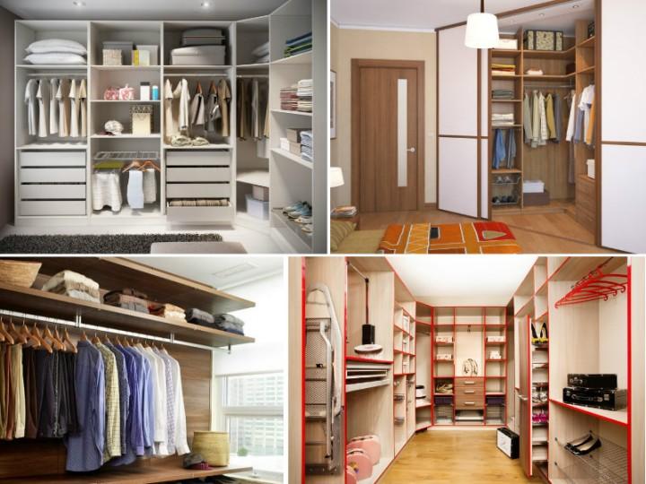 варианты гардеробной в квартире