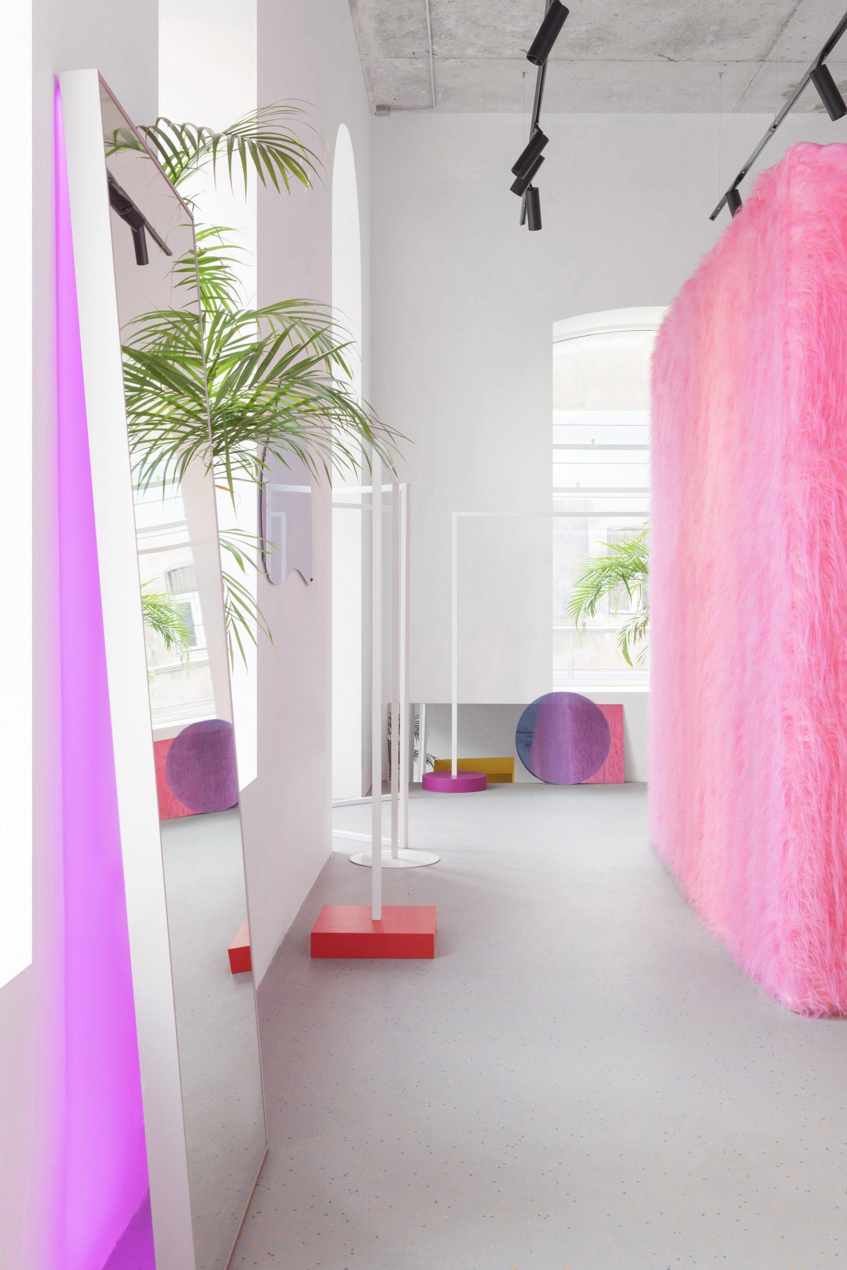 пушистые поверхности в дизайне интерьера