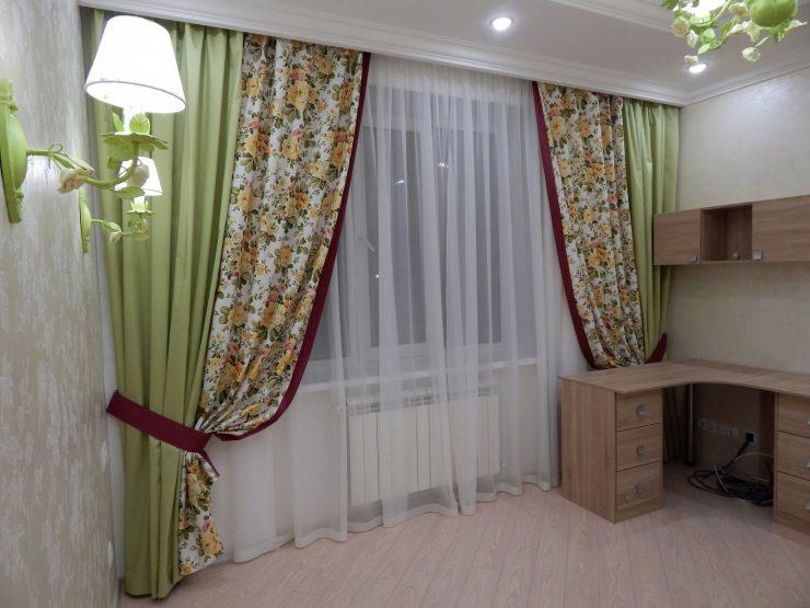 шторы в гостиной 2018