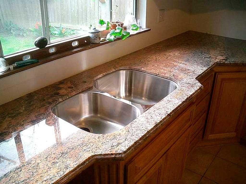 кухонная столешница из натурального материала