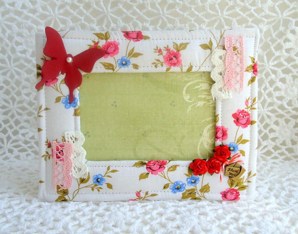 мягкая рамка из ткани и синтепона