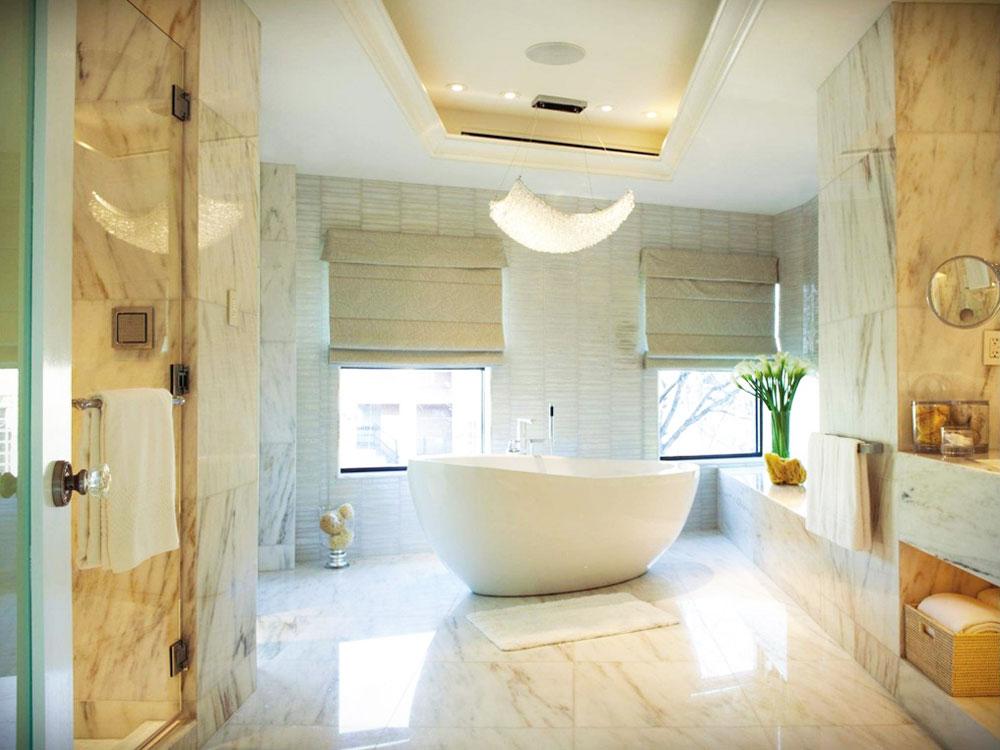 богатая ванная комната