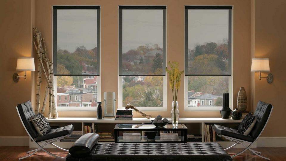 красивые окна без штор