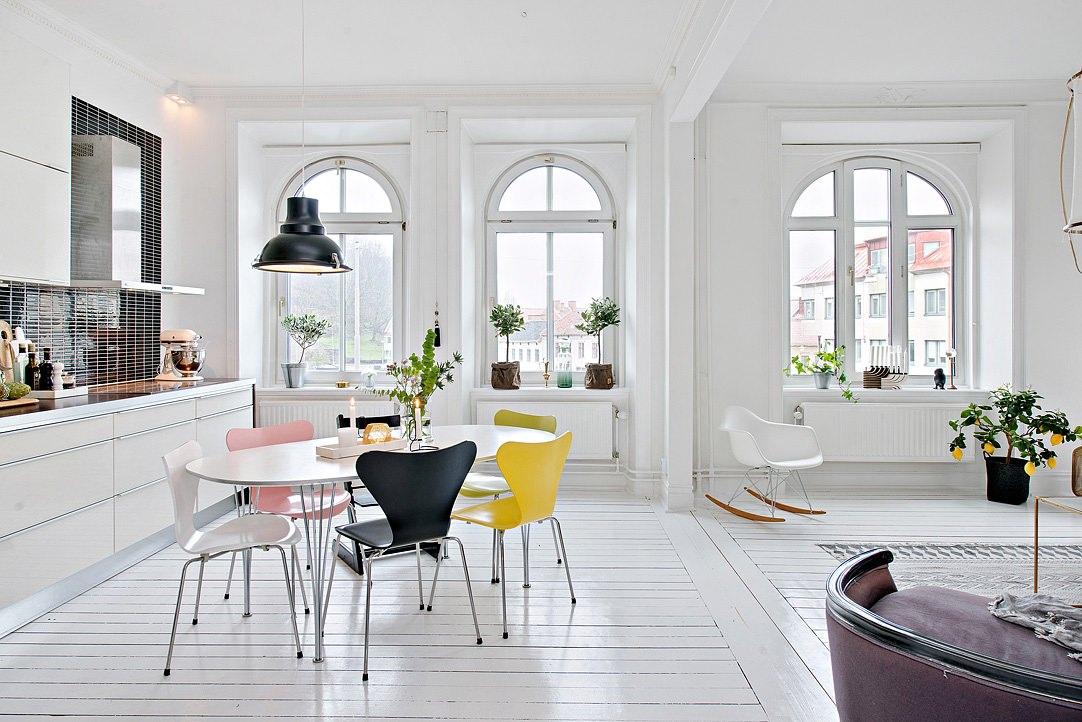 современные окна без штор